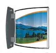 Panneau d'affichage suspendu 200 x 200 mm