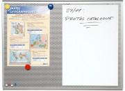 Panneau d'affichage tôlé - HT 45- 60 cm - L 60- 90 cm-Acier perforé- magnétique