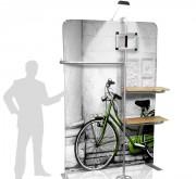 Panneau d'affichage vertical pour commerce - Dimensions : 1400 x 2200 mm