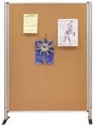 Panneau d'exposition en liège 172 x 122 cm - (H x l)cm :172 x 122- Certifié PEFC Surface:Liège uni pour punaisage