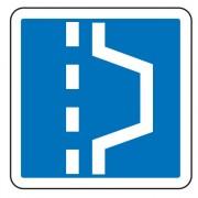 Panneau d'indication d'emplacement d'arrêt d'urgence C8 - Dimensions (mm) : de 350 à 1050 - Norme CE et NF - Type C