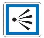 Panneau d'indication d'un point de vue CE21 - Dimensions (mm) : de 350 à 1050 - Norme CE et NF - Type CE
