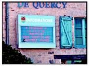 Panneau d'information électronique extérieur - Mural