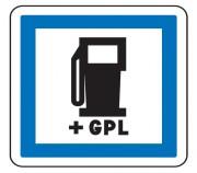 Panneau de poste de distribution de carburant GPL CE15c - Dimensions (mm) : de 350 à 1050 - Norme CE et NF - Type CE