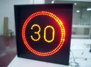 Panneau de signalisation lumineux led - Visibilité  jour et nuit