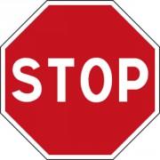 Panneau signalisation STOP AB4