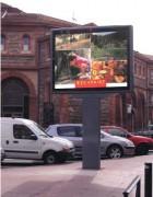 Panneau déroulant à charnières inoxydables - Format d'affichage 240x160 - DYN 267 4 m²