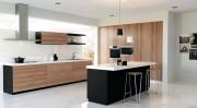 Panneau bois mélaminé pour porte cuisine - Finitions modernes, synchronisées et avec rugosité
