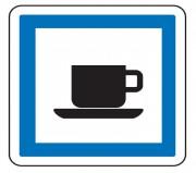 Panneau indication cafétéria CE18 - Dimensions (mm) : de 350 à 1050 - Norme CE et NF - Type CE