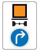 Panneau indication limitation tunnel C117 B21c1 - Dimension (mm) : de 600 x 800 à 1600 x 2400 - Norme CE et NF - Type C