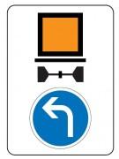 Panneau indication limitation tunnel C117-b21c2 - Dimension (mm) : de 600 x 800 à 1600 x 2400 - Norme CE et NF - Type C