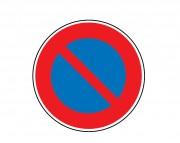 Panneau interdiction stationner B6a1
