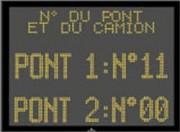 Panneau LCD - Ecran extérieur graphique multiligne monocouleur LEDI M