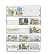 Panneau mural cartes postales - Dimensions (cm) : 55 x 75