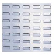 Panneau porte-bacs métallique - L: 1000 x H: 1000 x P: 1