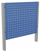 Panneau porte outils perforé 40 Kg - Dimensions (L x l x h )mm : 718 x 17 x 612