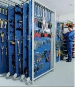 Panneau porte outils système compacte - Capacité de charge : 100 kg par panneau