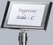Panneau pour poteau de guidage 34 x 49 cm