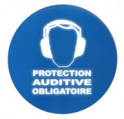 Panneau Protection auditive obligatoire