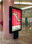 Panneau publicitaire déroulant électronique - Dérouleur 2m² DYN 172 - Format d'affichage 120x180