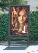 Panneau publicitaire extérieur - Planimètre QUADRA LINEA - Format d'affichage 120x180