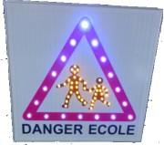 Panneau signalisation led - Signalisation routière lumineux à led