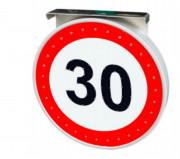 Panneau signalisation lumineux - Haute visibilité 300 mètres