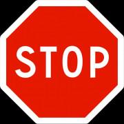 Panneau STOP pour intersection - Résistant au vent, à la corrosion