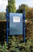 Panneaux affichage libre H 1225 x 1670 mm-modules initiaux - Avec ou sans bandeau - titre