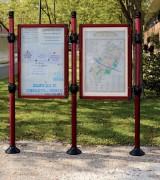 Panneaux d'affichage extérieur - Dimensions disponibles ( H x l) mm : 1600 x 1200