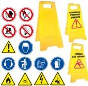 Panneaux d'avertissement en polypropylène - Dimensions (mm) : 600 x 280