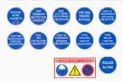 Panneaux d'obligation Diamètre 80 à 420 mm - 4 formats disponibles