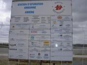 Panneaux de chantier publicitaire