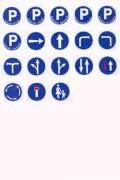 Panneaux de signalisation d'obligation en adhésifs - 4 formats disponibles