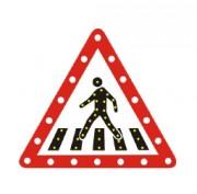Panneaux de signalisation dynamique - Alimentation Solaire / Electrique