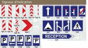 Panneaux de signalisation routière - Pour informer et orienter les usagers de la route