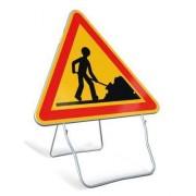 Panneaux de signalisation travaux publics - Gamme tout en acier