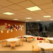 Panneaux LED Bureau - Panneau LED 60x60 pour bureaux