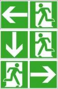 Panneaux photoluminescent de secours - Signalisation de secours