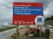 Panneaux publicitaires extérieurs - Panneaux 4 x 3 - Totems - Structure auto-portée