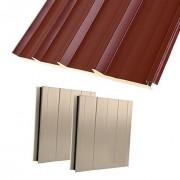 Panneaux sandwich Isolants pour toiture et bardage - Épaisseurs disponibles : 30 à 100 mm