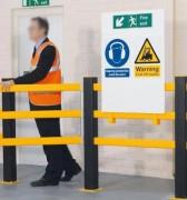 Panneaux signalisation industrielle - Des avertissements et instructions de sécurité