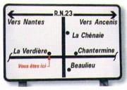 Panneaux villes