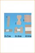 Pansements adhésifs 6 cm x 5 cm - Premiers soins