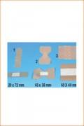 Pansements alimentaires détectables 38 x 72 mm (boite de 50) - Premiers soins