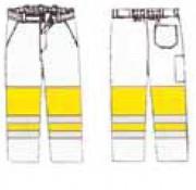 Pantalon bicolore haute visibilité à personnaliser - 50 couleurs de fond sur demande