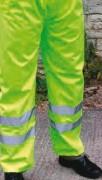 Pantalon de pluie haute visibilité - Pantalon  conforme à la norme EN471 classe 1