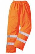 Pantalon de signalisation de pluie - Normes EN 471 classe 1:2 / EN 343 classe 3:1