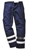 Pantalon de travail avec bande réfléchissante - Kingsmill 245 gr. ( polycoton 65/35 )