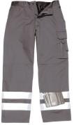 Pantalon du pluie avec bandes réfléchissantes